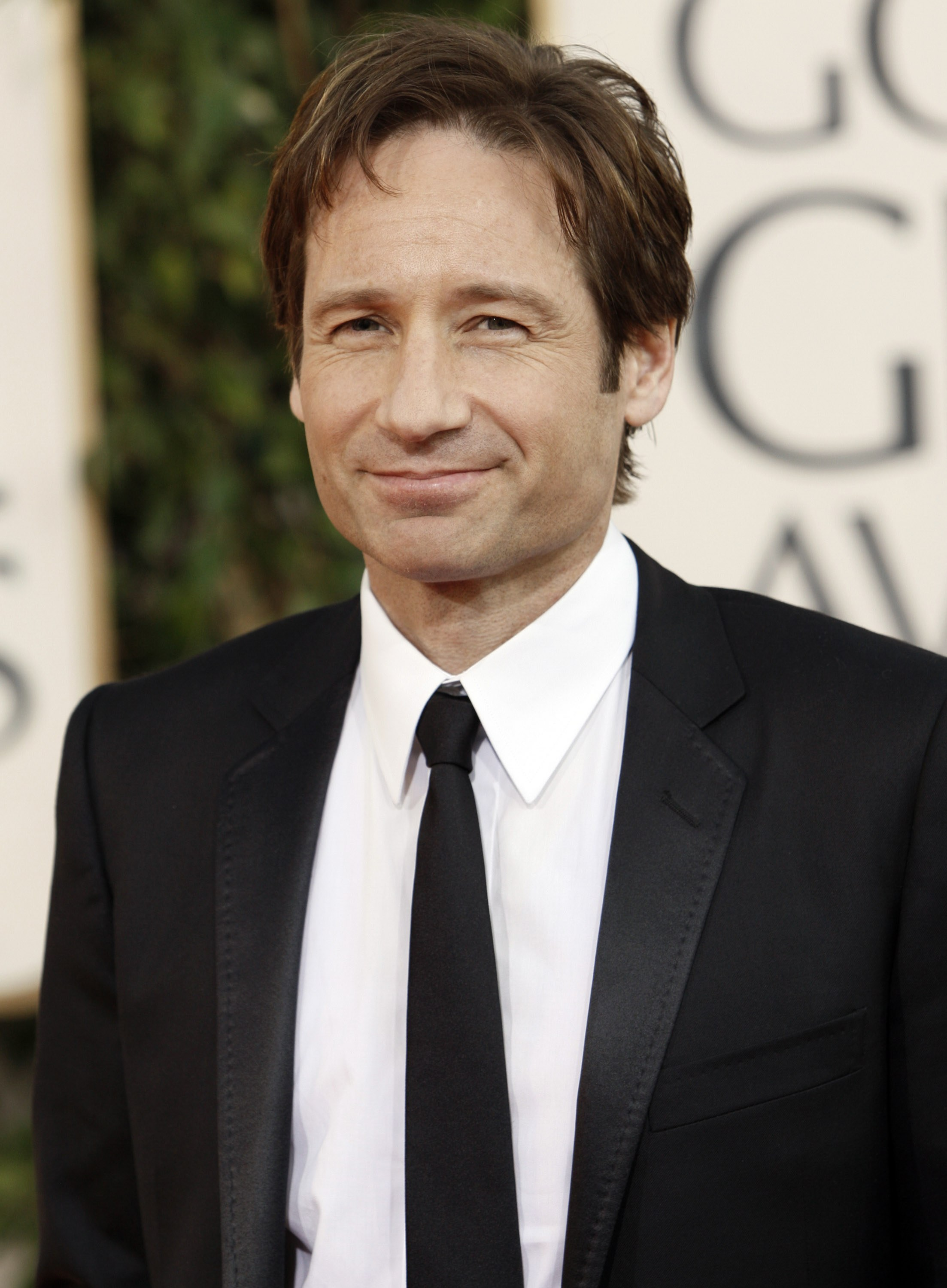 David Duchovny married...