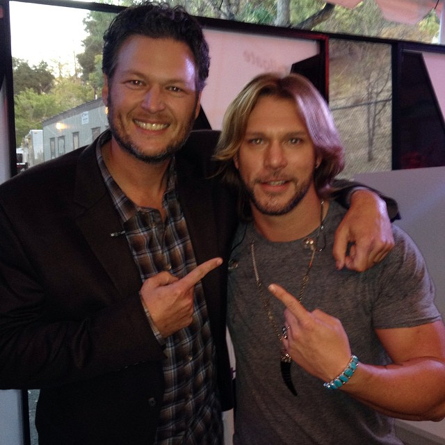 Craig Wayne Boyd with Blake Shelton