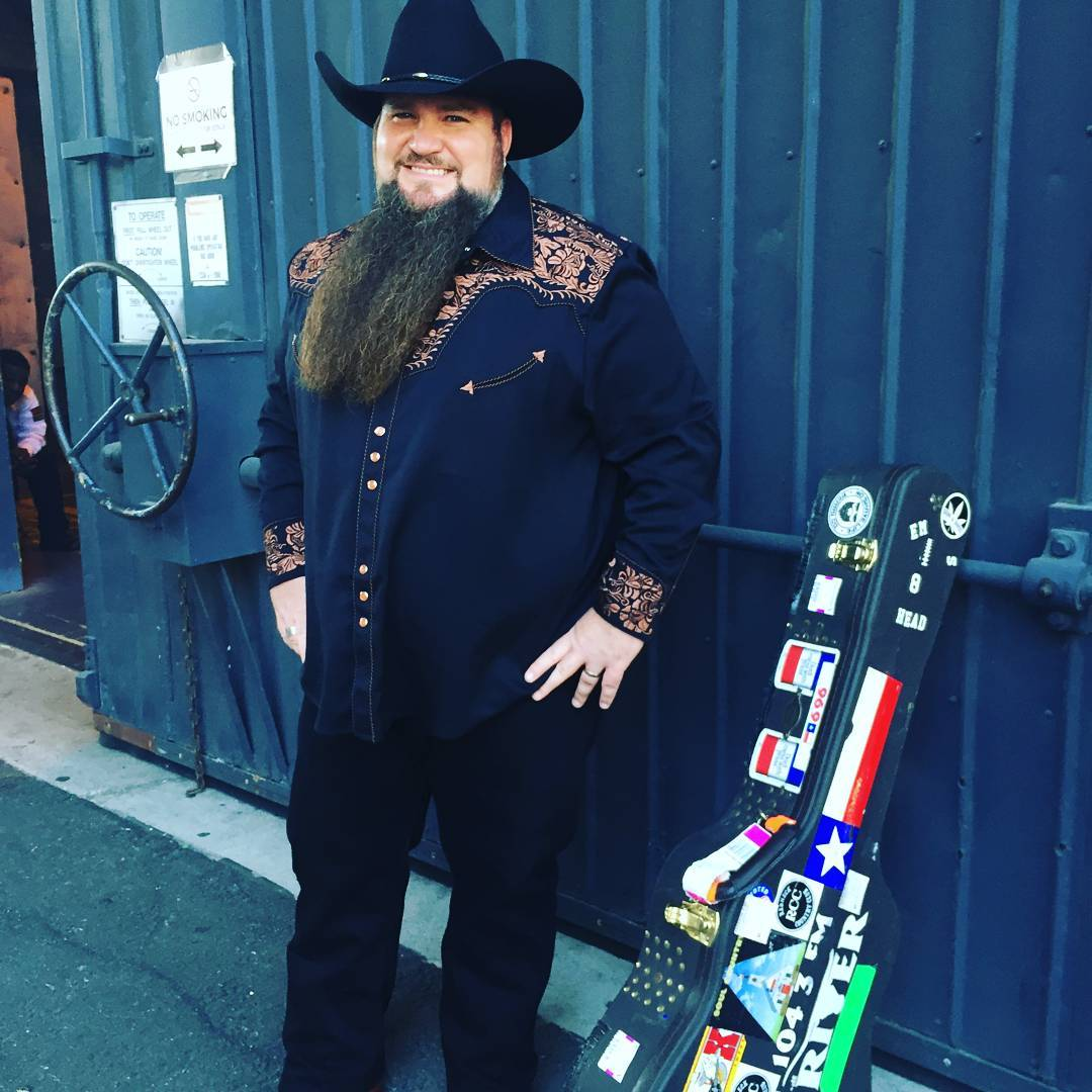 Sundance Head flaunting his signature beard