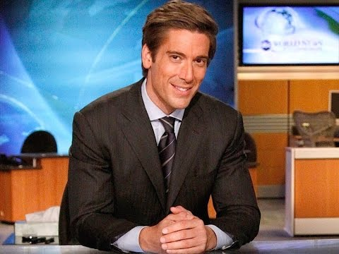 David presents the latest news on the ABC Network