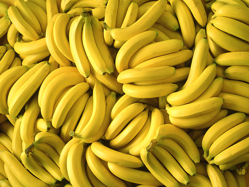 A lot of yellow bananas