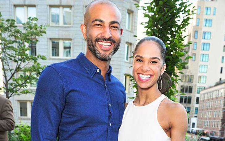 Olu Evans and his wife, Misty Copeland