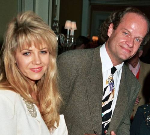 Doreen Alderman's ex-husband Kelsey Grammer with ex-wife Leigh-Anne Csuhany