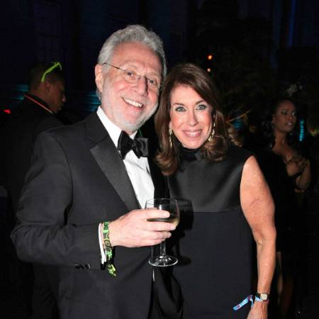 Wolf Blitzer with his wife Lynn Greenfield