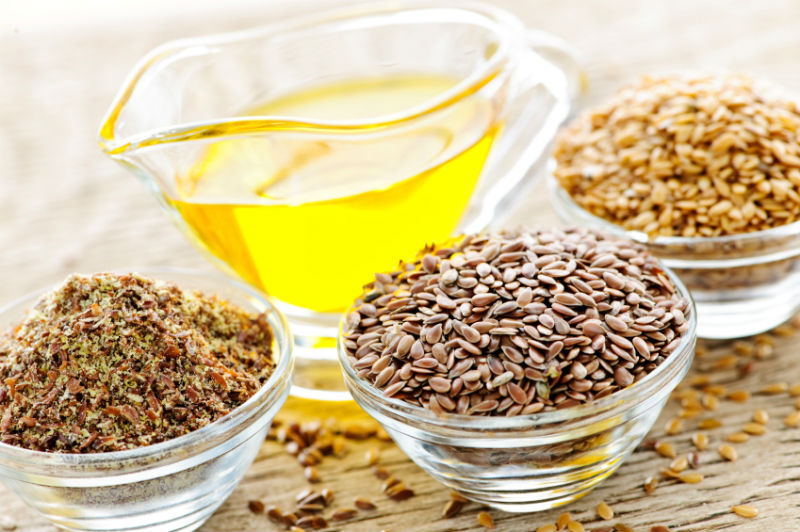 Oils of various seeds like flax seeds and sunflower